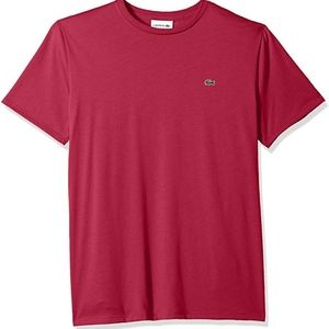 Lacoste Men's Short Sleeve Crew Neck T-shirt